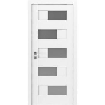 Двери Rodos Modern Verona белый мат Renolit