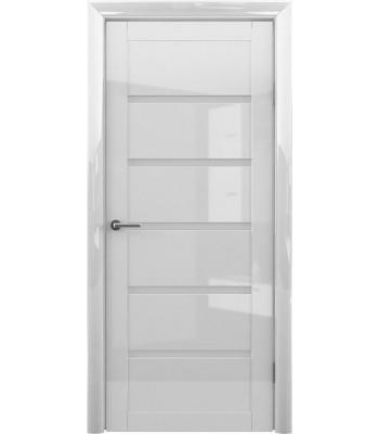 Межкомнатные двери Albero Видень Белый Глянец стекло белое