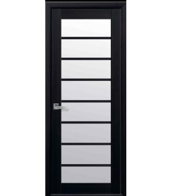 Двери Новый Стиль Виола экошпон стекло сатин