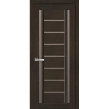 Двери Новый Стиль Флоренция жемчуг кофейный стекло бронза