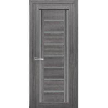 Двери Новый Стиль Флоренция жемчуг графит стекло графит
