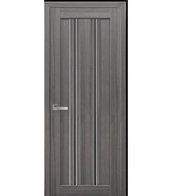 Двери Новый Стиль Верона С1 жемчуг графит стекло черное