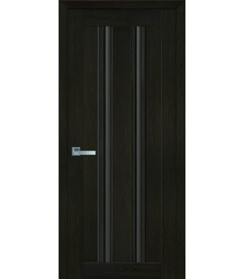 Двери Новый Стиль Верона С1 жемчуг кофейный стекло бронза