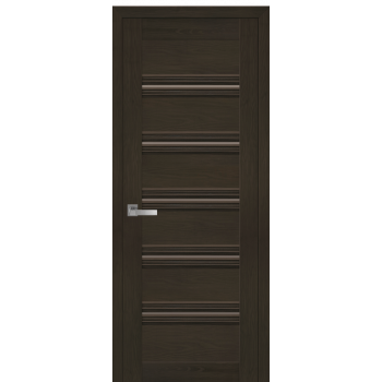 Двери Новый Стиль Виченца С1 жемчуг кофейный стекло бронза
