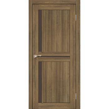 Межкомнатные двери KORFAD SCALEA SC-02 дуб браш стекло бронза