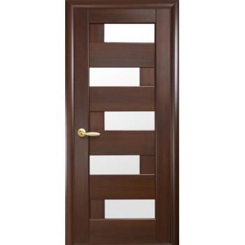 Двери Новый Стиль Пиана каштан