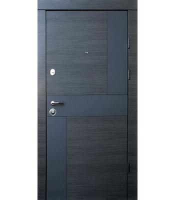 Двери Qdoors Премиум Стиль-М венге серый горизонт/белое дерево