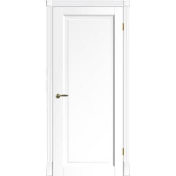 Двери TESSORO SOLO ПГ белая эмаль