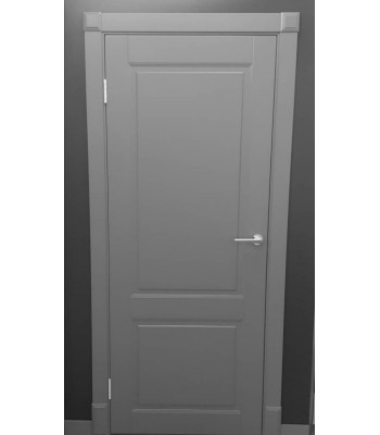 Двери межкомнатные Омега Милан ПГ выкраска Ral 7024