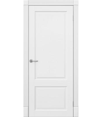 Двери межкомнатные Омега Милан ПГ белый