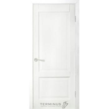 Межкомнатные двери Терминус модель 04 глухое ясень белый