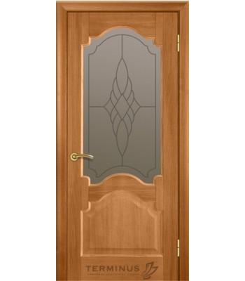 Межкомнатные двери Терминус модель 08 дуб темный
