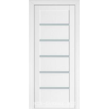 Межкомнатная дверь Терминус Nanoflex модель 307 белый мат глухая