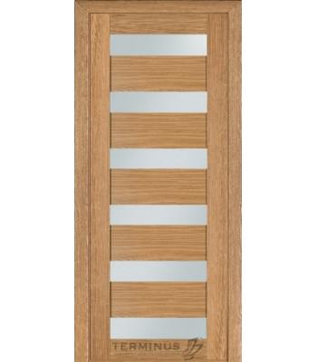 Межкомнатные двери Терминус Modern 136 дуб светлый ШПОН