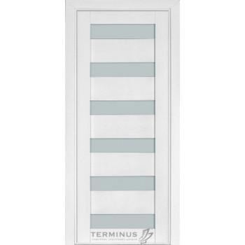 Межкомнатные двери Терминус Modern 136 ясень белый ШПОН
