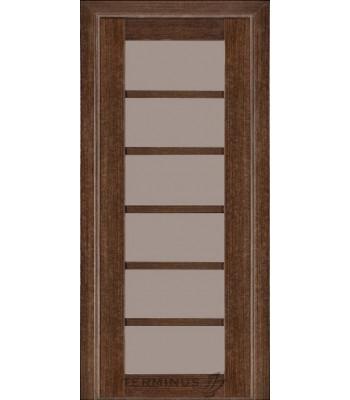 Межкомнатные двери Терминус Modern 137 венге стекло ШПОН