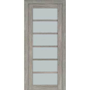 Межкомнатная дверь Терминус Nanoflex модель 307 стекло эскимо