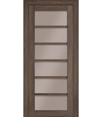 Межкомнатная дверь Терминус Nanoflex модель 307 фундук стекло