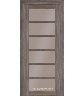 Межкомнатная дверь Терминус Elit модель 307 стекло Грей