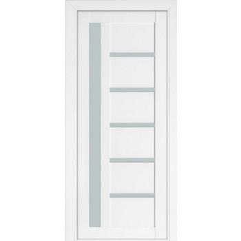 Межкомнатная дверь Терминус Nanoflex модель 108 белый мат