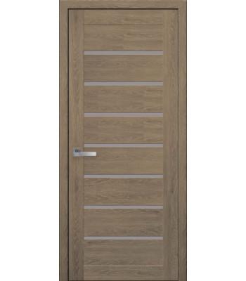 Двери Новый Стиль ПВХ Ultra Леона дуб медовый