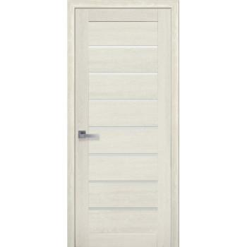 Двери Новый Стиль ПВХ Ultra Леона дуб молочный