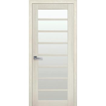 Двери Новый Стиль ПВХ Ultra Виола стекло сатин дуб молочный