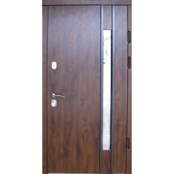 Двери входные REDFORT Эталон Авеню со стеклопакетом УЛИЦА